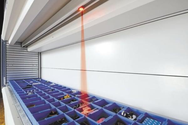 pick-to-light-storage-system